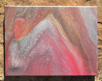 """Erupt 12x16"""" Stretched Canvas"""