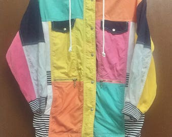 Vintage Colourfull Sweater 90's Together