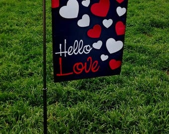 "Custom Garden Flag Custom Garden Flags Full Color Designs Custom Flag 12""X18"" Made to Order"