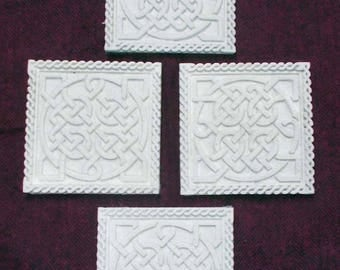 Celtic themed coasters