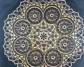 Wooden Mandala