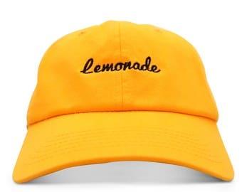 Lemonade Six Panel Unstructured Baseball Cap Dad Hat