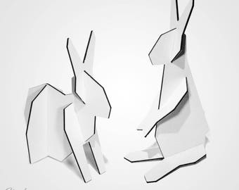 MXFX Easter Bunny Hesis Dibond Bunny