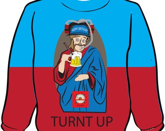 TurntUp Ugly Christmas Sweater