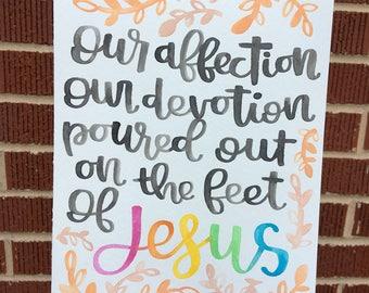 Our Affection, Our Devotion