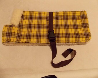 Dog coat suitable for Dachshunds