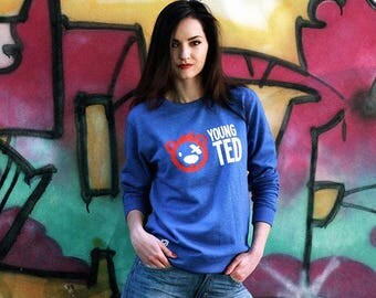 Sweatshirt for Women Teddy Bear Jumper