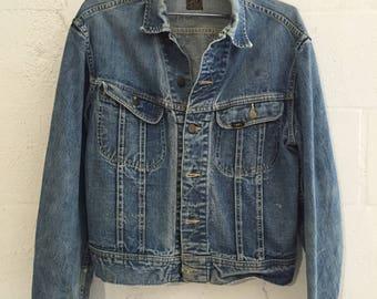 Vintage Lee 101-J Denim Jacket 42