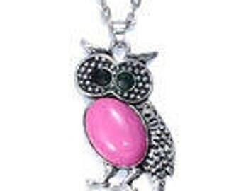 Vintage Owl Neacklace