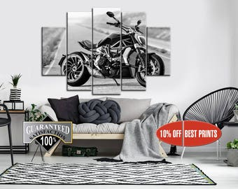 Superieur Motorcycle Wall Art | Etsy