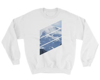 Shirtography: Mountain Diagonals Sweatshirt