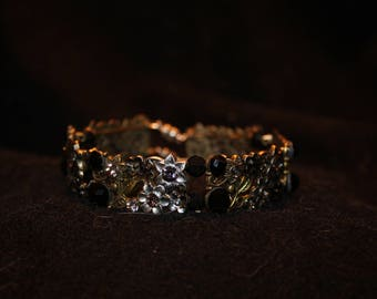 Black bangle bling
