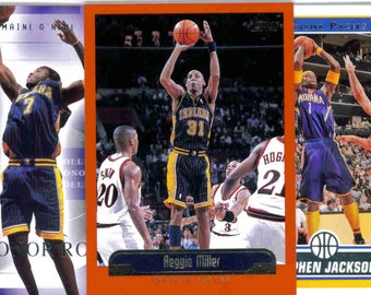 INDIANA PACERS Basketball Team Lot - 150 Assorted Cards