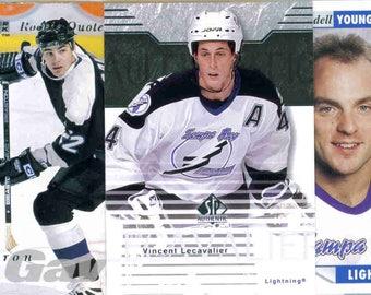 TAMPA BAY LIGHTNING Hockey Team Lot - 125 Assorted Cards