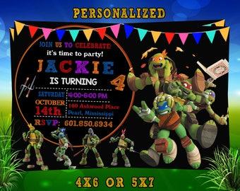 TMNT ninja turtle Birthday, TMNT Ninja Turtle Birthday invitation, TMNT Ninja Turtle, tmnt Ninja Turtle invitation, Ninja Turtle party