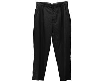 Long Tape Wide Trousers