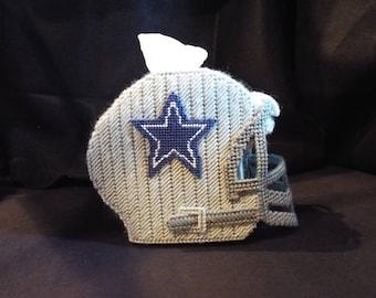Dallas Cowboys Football Helmet Tissue Cover