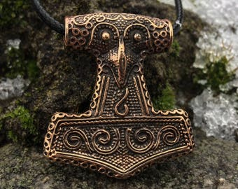 Thor's Hammer Mjolnir Viking Pendant Weight 22,52g