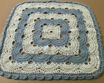 Baby Blue Virus Swaddling Blanket