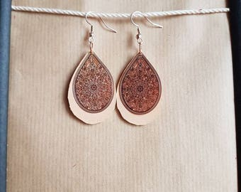 """""""Bohemian"""" earrings"""