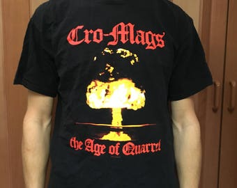Cro-Mags / The Age of Quarrel / Band / T-Shirt / Graphic / Punk / Hardcore / Hardcore Punk / 1986 album