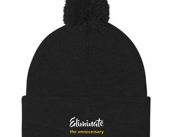 Eliminate the Unnecessary Pom Pom Knit Cap