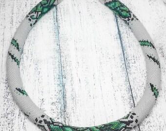 Beadcrochet necklace Fiona