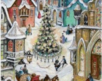Once upon a Christmas. Cross Stitch pattern pdf.