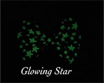 GlowingStar- Glow in the Dark Bow