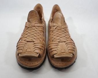 PACHUCO CINCO VUELTAS mexican sandals mens handcrafted authentic leather huaraches mexicanos cuero autentico