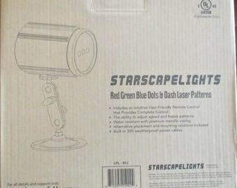 STARSCAPE LIGHTS   LPL-902-Red-Green-Blue-amp-Dash-Laser-Patterns