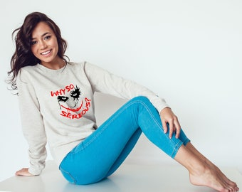 The Joker Sweatshirt - Why So Serious Sweatshirt #R