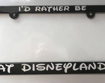 License Plate Frame Etsy