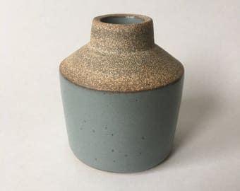 Medium Gray bud vase #14