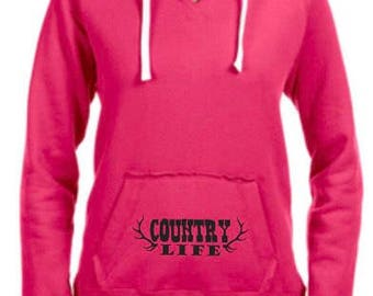 Country Life Pink Ladies hoodie