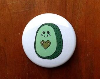 "Avo-Cutie 1.5"" Pinback Button"