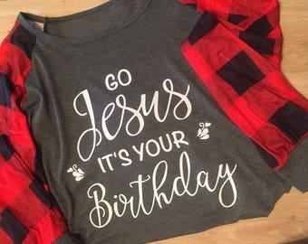 Jesus Birthday Christmas Shirt