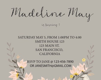 Customized Invitations