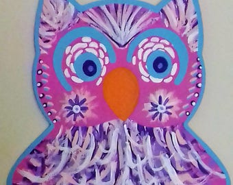 Hand Painted Owl!!