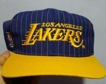 Lakers vintage snapback
