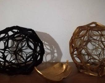 Original decorations (1 piece, black or golden color choice)