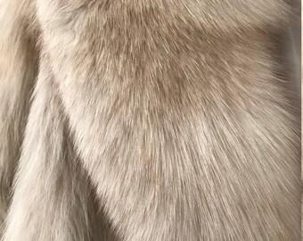 Vintage Genuine Silver Fox fur