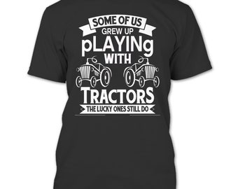 I'm A Farmer T Shirt, Playing With Tractors T Shirt