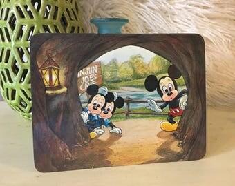 Walt Disney Mickey Mouse Vintage Postcard 1979