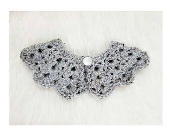 Paisley Collar | Grey Marble