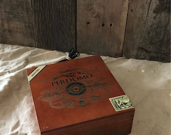 Cigar Box Bluetooth speaker
