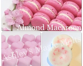 3 almond macaroon jo malone soy wax melts, designer dupe melts, scented gifts, strong wax melts, cheap melts, sweet scented gifts