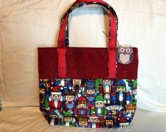 Nutcracker Christmas Purse