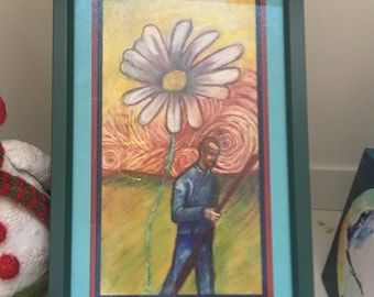 Van Gogh with Sunflower