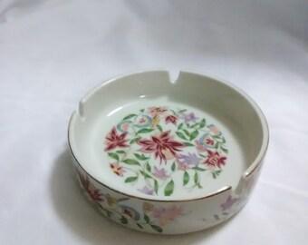 Japan floral ashtray